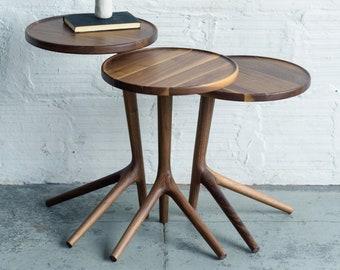 The Tripod Table - Walnut