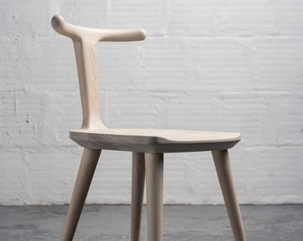 Oxbend Chair - White Ash