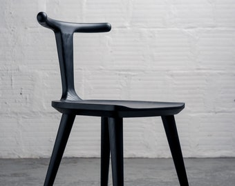 Oxbend Chair - Charcoal Ash Black