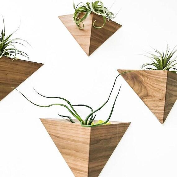 Triangular Air-Plant Planter box Geometric Indoor Planter