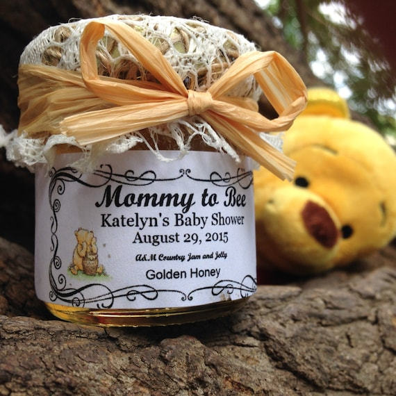 Winnie The Pooh Baby Shower Favors Honey Baby Shower Favors Etsy