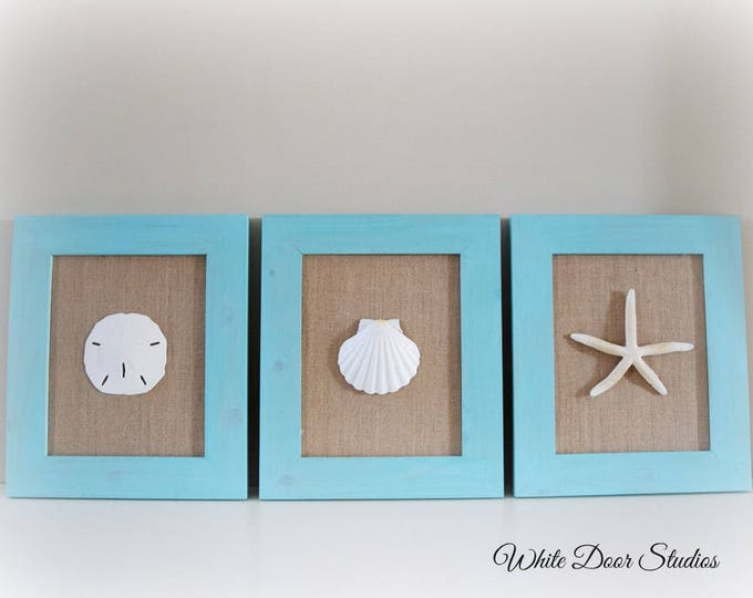 Beach Inspired Wall Decor Set