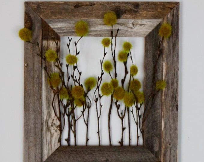 Rustic Woodland Greenery Wall Decor