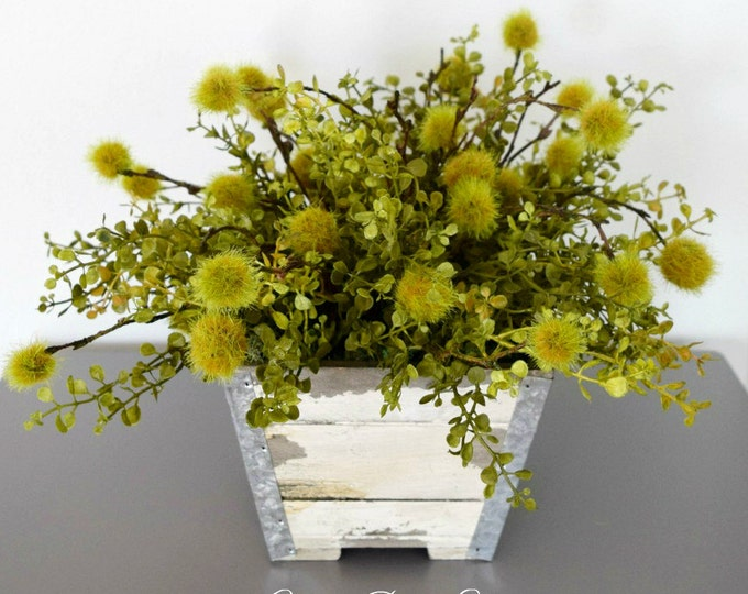 Unique Greenery Centerpiece