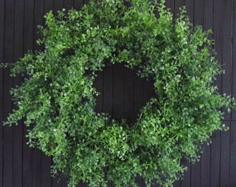Perfect Greenery Year Round Front Door Wreath - St. Patrick's Day Wreath