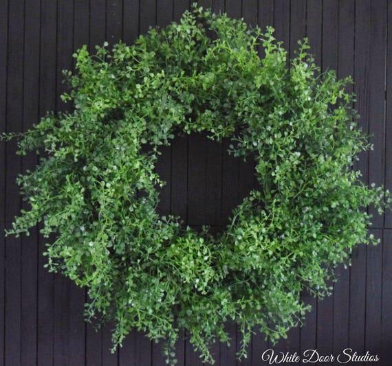 Everyday Greenery Front Door Wreath