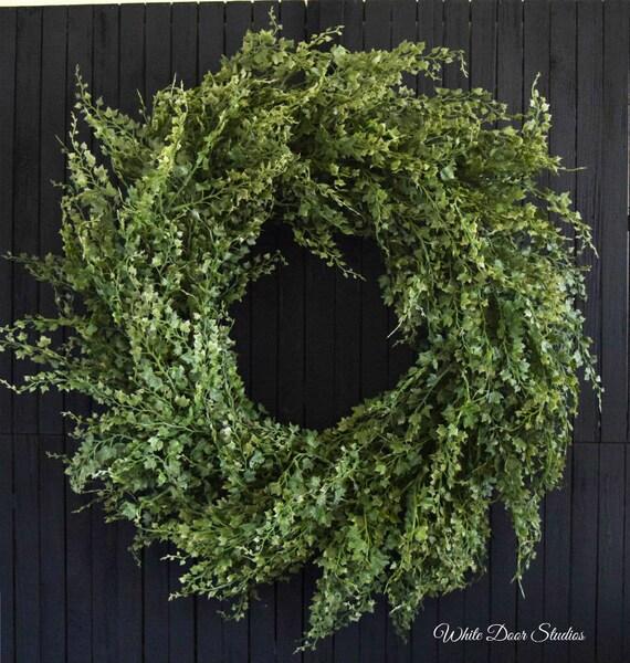 Artificial Ivy Year Round Front Door Wreath
