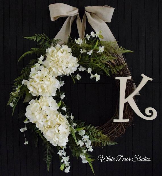 Romantic Hydrangea Wreath