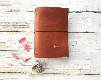 Leather Journal, Passport Fauxdori, Travel Journal, Leather Travelers Notebook, Passport Fauxdori Notebook, Unique Journal, Personalized