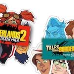 Borderlands Sticker Packs