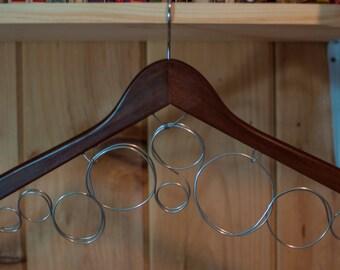 Scarf Hanger, Wooden Scarf Organizer, Belt Hanger, Belt Organizer, A Place to Put my Scarves, Closet Organization