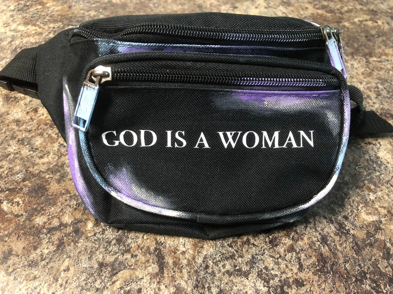 5236a5f5563944 Ariana Grande God is a woman Sweetener Fanny Pack Inspired | Etsy