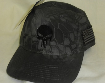 Kryptek Punisher hat - No vsp - Punisher hat- Tactical Skull Punisher Hat  -Punisher Skull - Navy Seal Hat -US Navy Seal Punisher Hat 9f8350a2b02