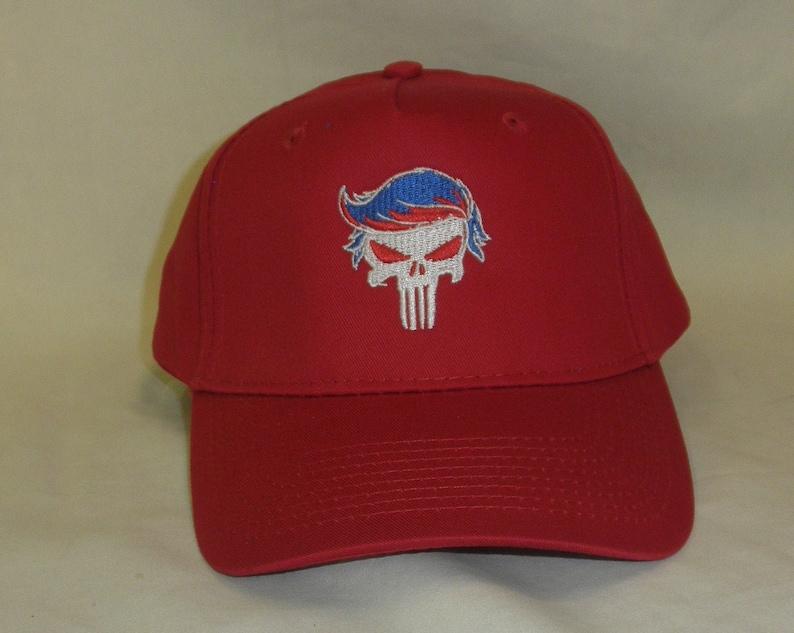 ec9c2fb78 Trump Hat - MAGA HAT Trump 2020 Hat -Trump Punisher - Make America Great  Again Hat - Tactical Hat - Punisher - Kryptek Punisher Hat -Kryptek