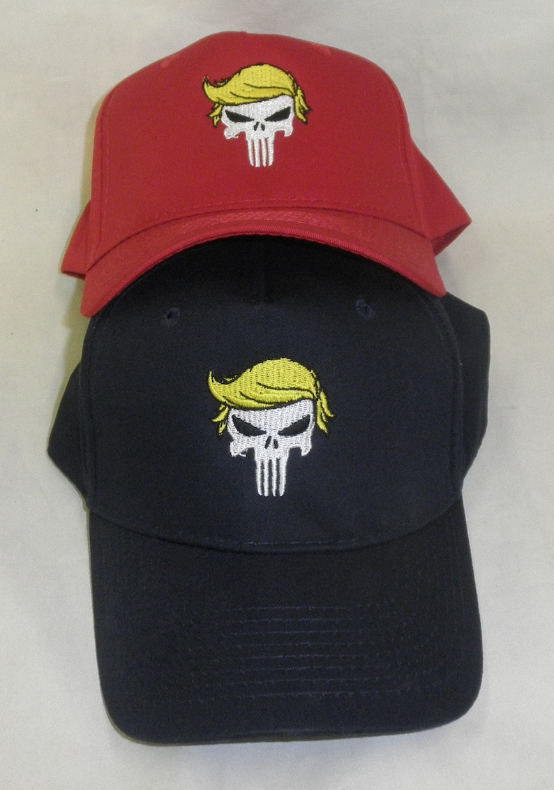 763ff085ea5c0 Trump Hat Trump Punisher Hat Make America Great Again Hat