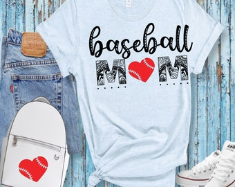 Download Baseball Svg * Baseball Mom Svg * Proud Baseball Mom Cut File PNG