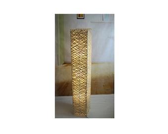 Bamboo floor lamp | Etsy