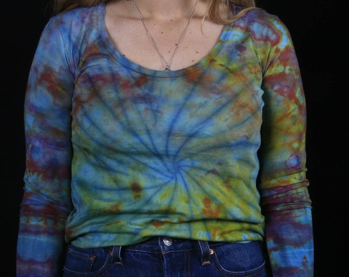 Hand Dyed Long Sleeve Shirt