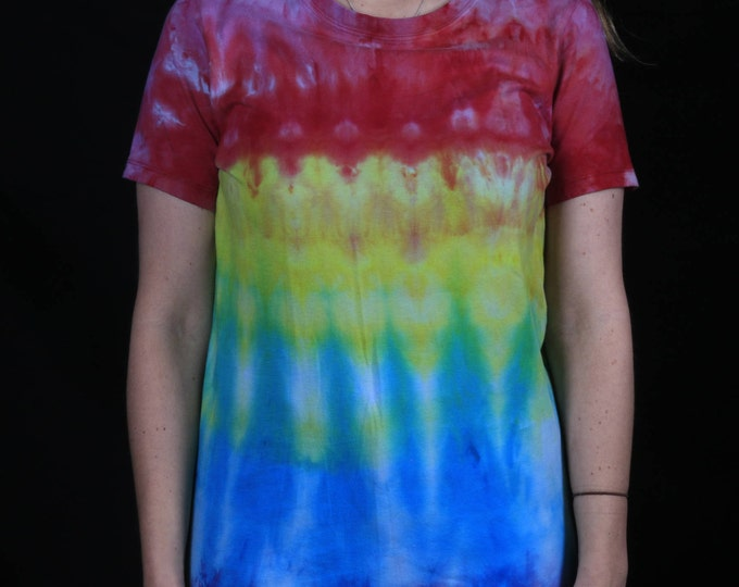 Hand Dyed Rainbow T-Shirt