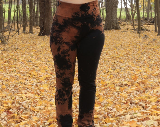 Hand Dyed High Waisted Pant