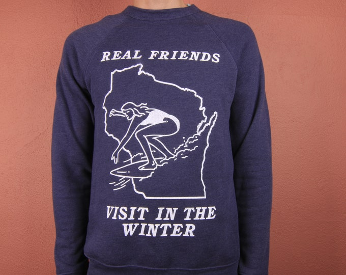 Real Friends Visit In The Winter Crewneck