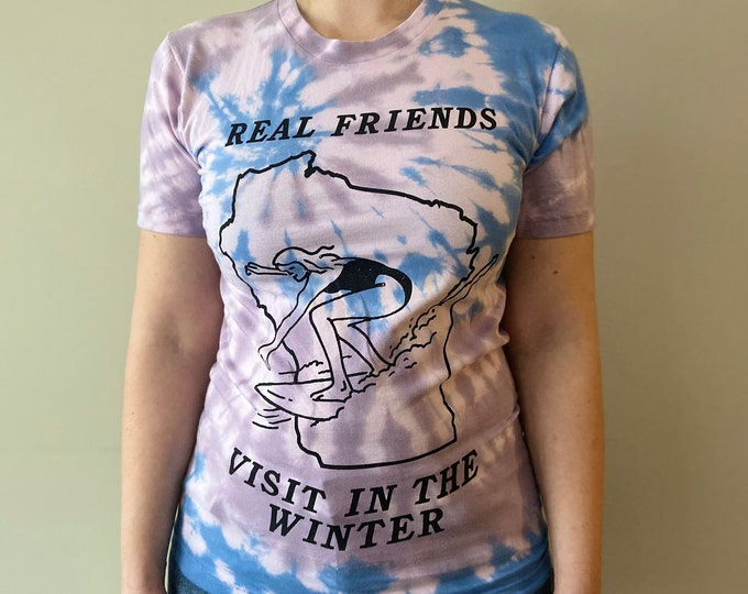 Real Friends Visit In The Winter T-shirt