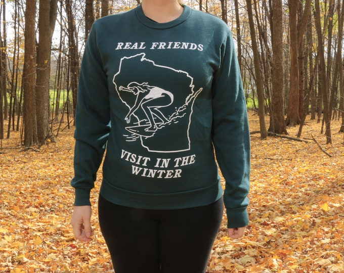 Real Friends Visit Crewneck