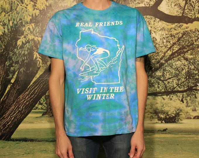 Real Friends Visit Tie Dye T-Shirt