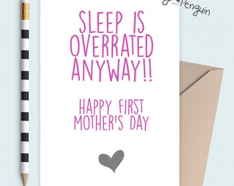 First Mother's Day card - New Mum
