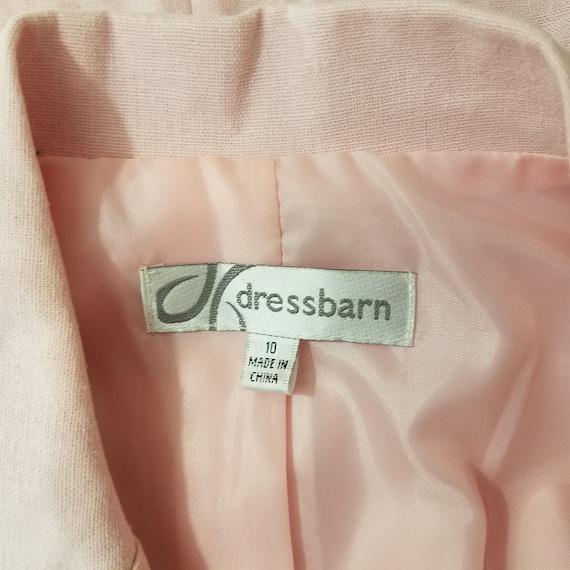 DRESSBARN Powder Pink Linen Pant Suit - Size 10 -… - image 10