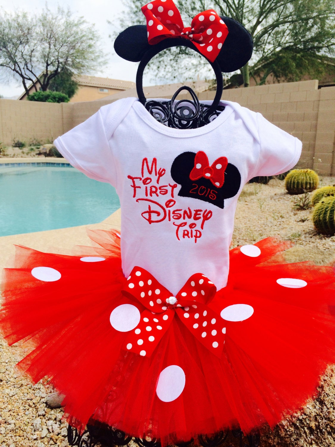 My first Disney trip tutu outfit Disney VacationHalloween