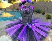 Princess Witch tutu dress, Halloween tutu costume