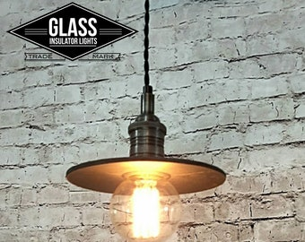 Train Station Light - Industrial Farmhouse Pendant Light