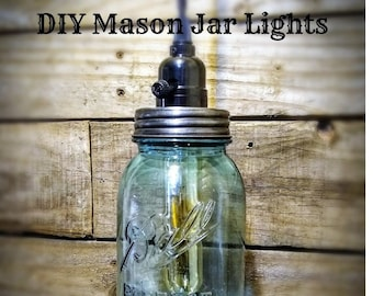 DIY Mason Jar Lights - DIY Kit