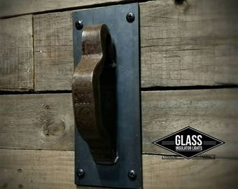 Sliding Barn Wood Hardware - Barn Door Pull  - Vintage Railroad Barn Door Pull