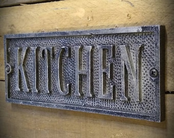 Kitchen Signs - Vintage Farmhouse Kitchen Sign - Kitchen Decor