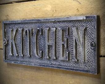 Kitchen Signs - Vintage Farmhouse Kitchen Sign - Kitchen Decor