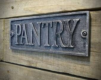 Kitchen Signs - Pantry Sign - Vintage Farmhouse Kitchen Sign - Kitchen Decor