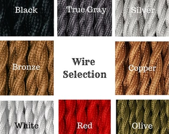 Cloth Wire - Antique Style Twisted Wire