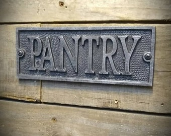 Pantry Sign - Pantry Door Sign - Kitchen Sign - Kitchen Decor - Farmhouse Kitchen - Farmhouse Decor