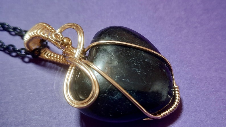 Black Moonstone Wire Wrapped Heart Pendant Jewelry Moonstone Heart 14k Gold Filled Wire Wrap Pendant Necklace Jewelry