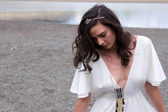 The June Dress ~ Jenny Hedberg  ~ Handmade Bohemian Wedding Dress