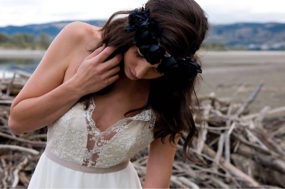 SAMPLE SALE | The August Gown | Handmade Bohemian Wedding Dress | Sample Dress