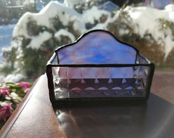 Stained Glass Business Card Holders