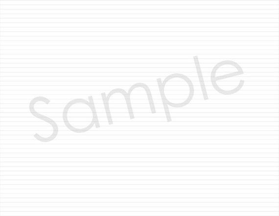 4 5mm ruled notebook paper light medium dark pdf etsy