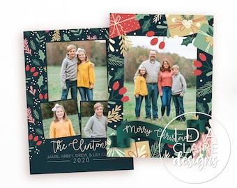 Christmas Photo Card | Festive Present | Photo Collage