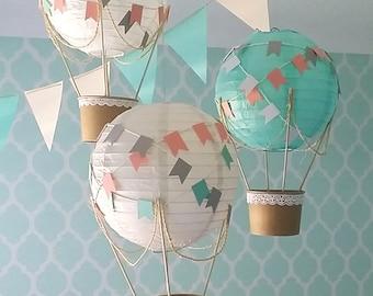 Hot Air Balloon Nursery Etsy