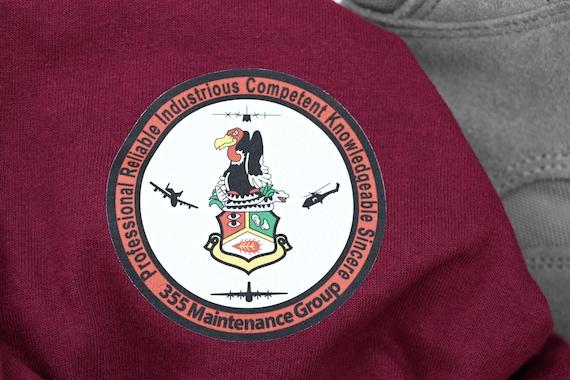 Air Force Squadron Morale Shirt, Unit, Detachment, GSU Shirt