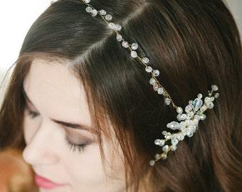 Wedding Hair Vine, Bridal Head Piece, Bridal Hair Wreath