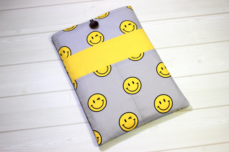 13 zoll macbook tasche smiley laptop h lle gelbe macbook. Black Bedroom Furniture Sets. Home Design Ideas